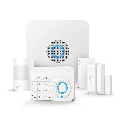Ring Alarm 5-teiliges Set von Amazon – Alarmanlage mit optionaler unterstützter Überwachung –...