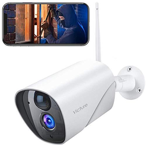 Victure 1080P WLAN IP Kamera Überwachungskamera Aussen PIR Bewegungserkennung Wasserdicht mit...