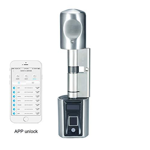 WE.LOCK Biometrischer Fingerabdruck und Bluetooth Smart Elektronisches Türschloss für Telefon...