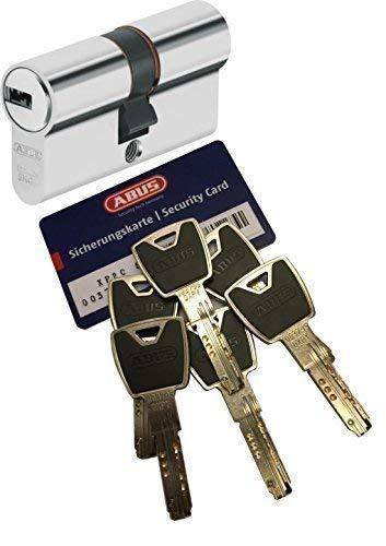 Sicherheitsschließzylinder ABUS Profil-Doppelzylinder mit 6 Schlüssel