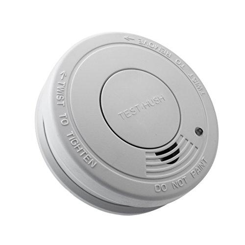 Kobert-Goods 1 x LM-107A 10 Jahres Rauchmelder Melder Einsatz als Rauchwarnmelder Feuermelder Homesecurity für maximale Feuer Sicherheit mit 85db-Alarm Batteriebetrieben und DIN EN14604 geprüft