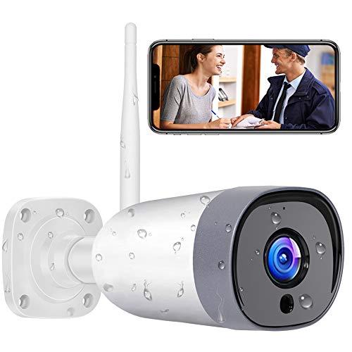 Mibao WLAN IP Kamera Outdoor,Überwachungskamera 1080P HD WiFi Kamera für Aussen, IP66 wasserdichte...