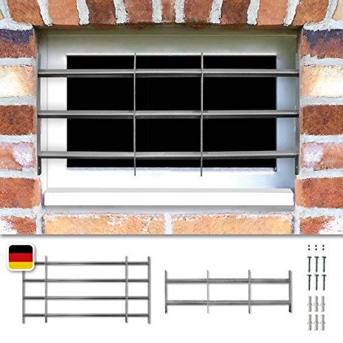 Fenstergitter Sicherheitsgitter Venlo ausziehbar in 6 Größen 600x700-1050 mm